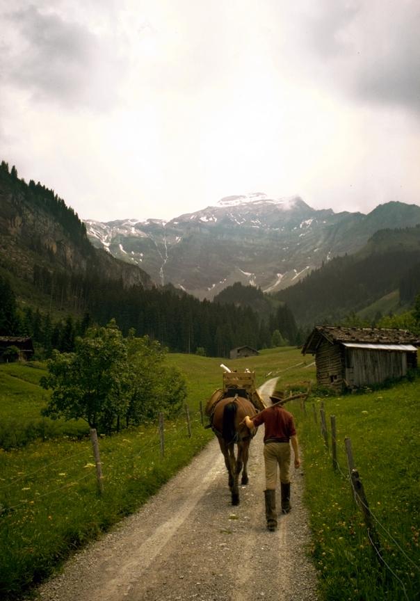Schweiz, alplandskap.