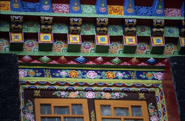 Sikkim, tempel.