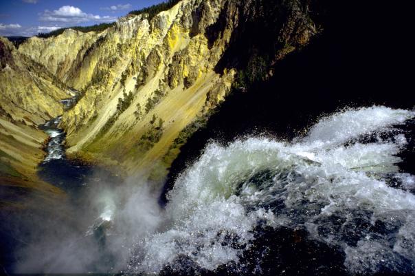 Wyoming, Yellowstone Falls.