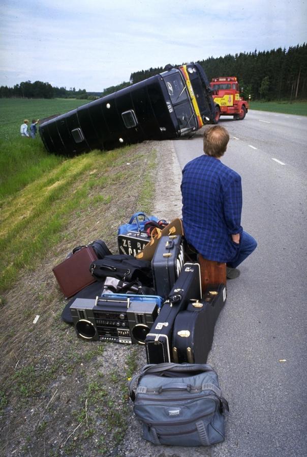 Olycka, abrupt avslut på turnéen.