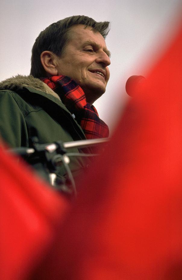 Första maj, Olof Palme.