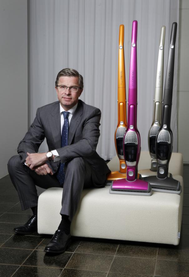 Hans Stråberg, VD, Electrolux