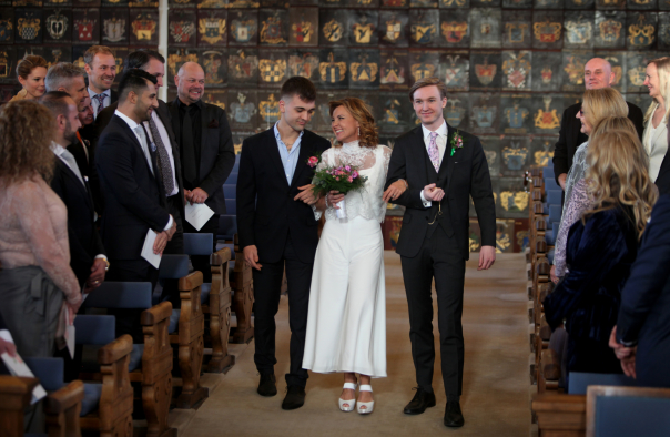 Bröllop Pigge och Jimmy, Riddarhuset.