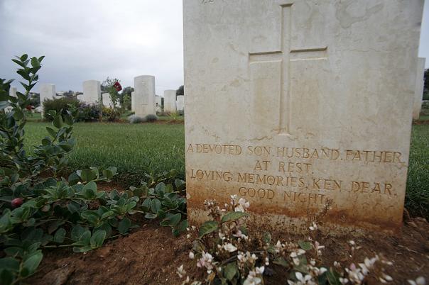 Allierad krigskyrkogård, Kreta.