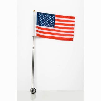 Car flagpole