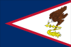 Am. Samoa car flag