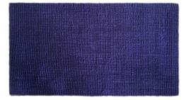 Art.441 Kerala, Ultramarin. Storlek: 80x140 cm.Latexbaksida.
