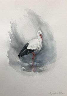 Stork av Ingela Matsson