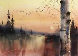Evening drive av Christian Koivumaa