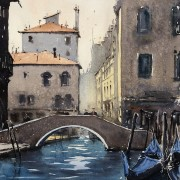 Gondoler, Venedig av Benny Stigsson