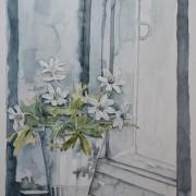 Vitsippor i fönstret av Pontus Runeke