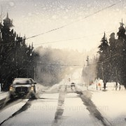 Winter road av Christian Koivumaa