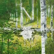 Skogens vita konung av Kristina Blakstad