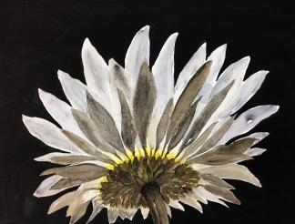 Blomma underifrån av Louice Pettersson