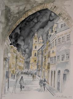 Natt i Prag av Pontus Runeke