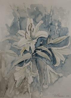 Vita liljor av Pontus Runeke
