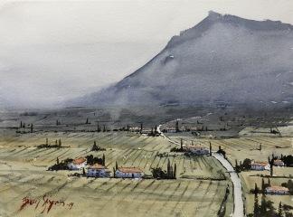 Utsikt, Toscana av Benny Stigsson