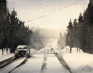 Winter road av Christian Koivumaa