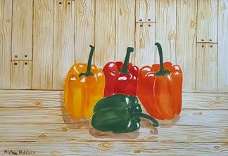 Paprikor av Kristina Blakstad