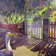 Vem katten glömde stänga grinden? av Tina Thagesson