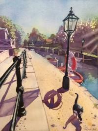 Catwalk av Tina Thagesson, giclée-tryck. Pris: 1100 kr