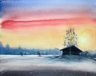 Skidor av Christian Koivumaa