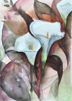 Liljor av Ingela Matsson