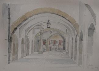 Rothenburg ob der Tauber-valv av Pontus Runeke