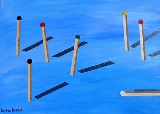 Matches av Kristina Blakstad