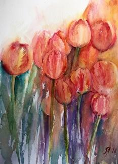 Tulpaner av Tanya Lundmark
