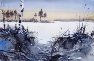 Snösjö av Anders Andersson
