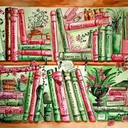 Vår i bokhyllan av Kristina Blakstad