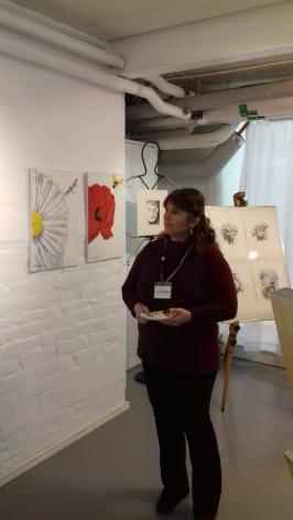 Kristina Blakstad, konstnär