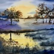 Solnedgång av Tanya Lundmark