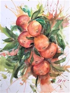 Mandariner av Tanya Lundmark