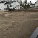Inför gräsmatta