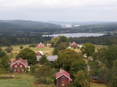 Utsikt mot Tolg från Nykulla utsiktstorn