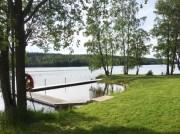 Badplatsen vid Asasjön