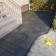 Romexfogen säkerställer att kunden slipper rensa ogräs mellan sina granitplattor