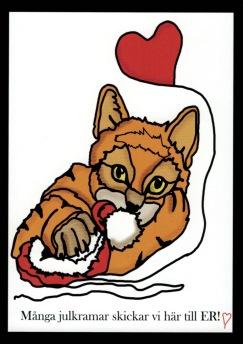 Julkort - 8 st julkort