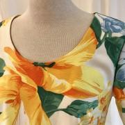 Solbritt klänning Solgul