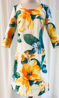 Solbritt klänning Solgul - Small