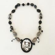 Halsband Frida Black & White