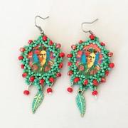 Örhänge Frida Relic