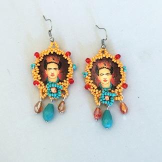 Örhänge Frida Freedom Birds -