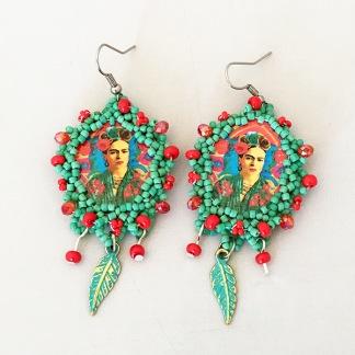 Örhänge Frida Relic -