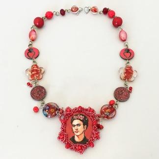 Halsband Frida Red -