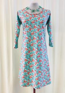 Dahlia klänning Lilla Flamingon - Medium