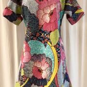 Anemona klänning Sommarblom