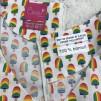 Solbritt Klänning Regnbågsglass